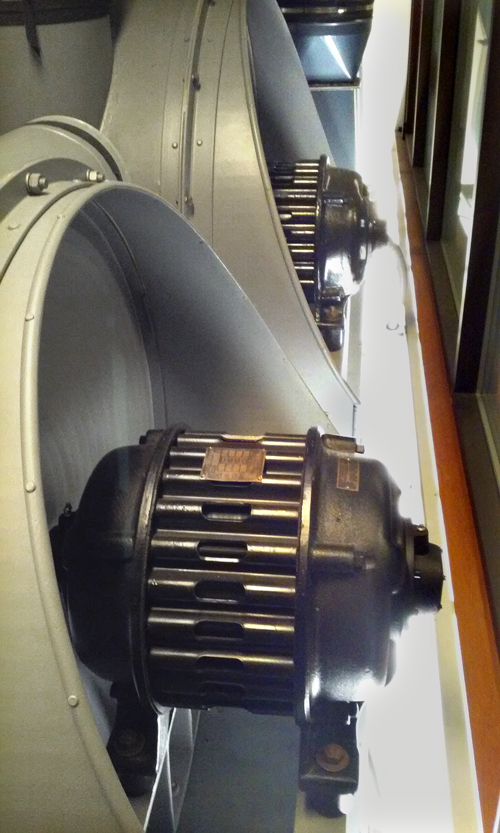 3 phase induction motors power blowers for large concert organ