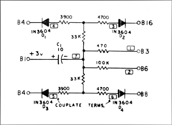 pedal keyer circuit diagram