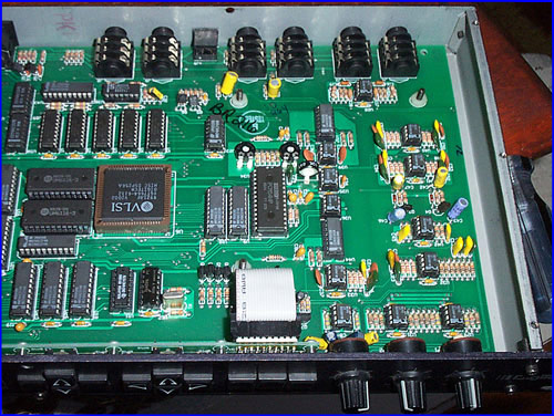 Another interior view, digital signal processor
