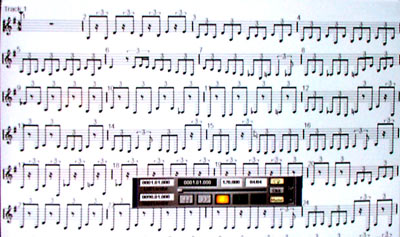 MIDI as conventional musical notation